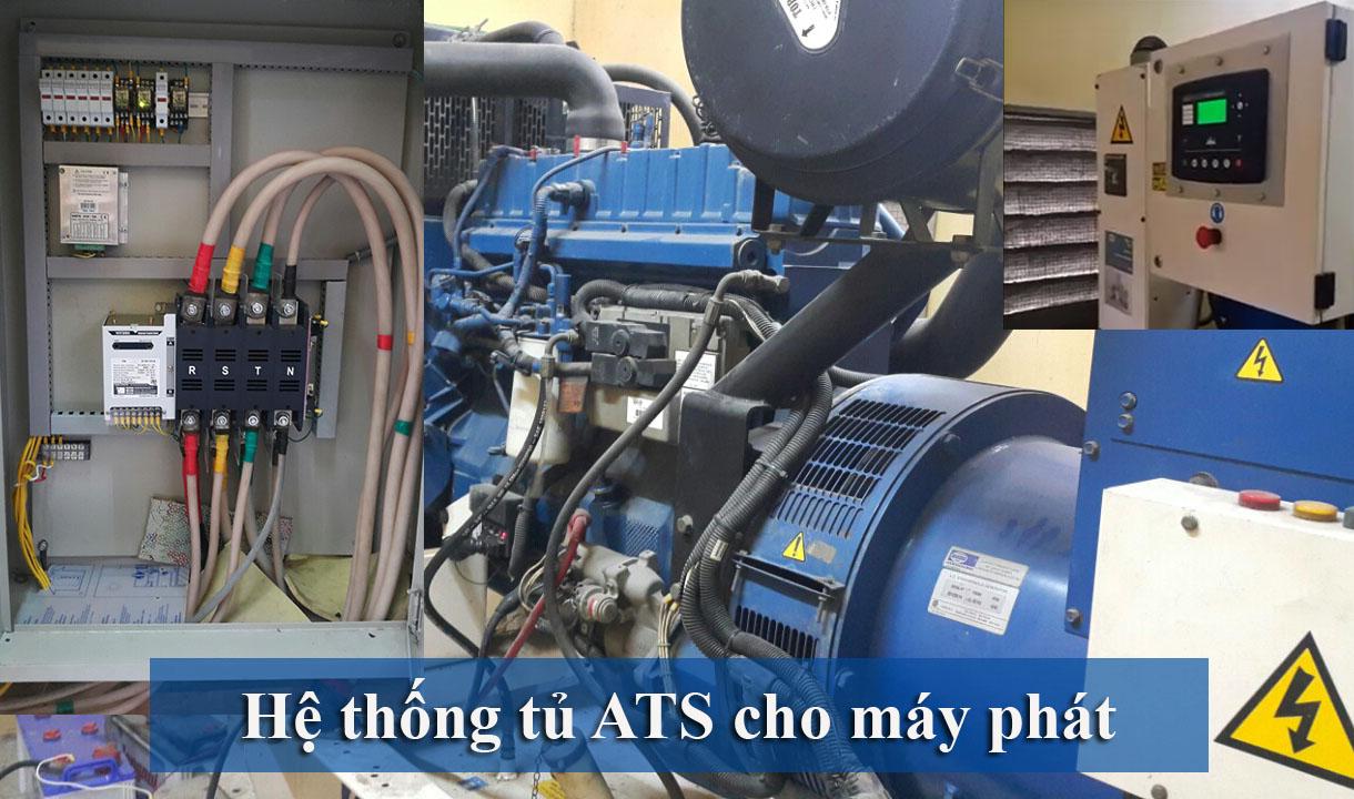 hệ thống tủ Ats máy phát