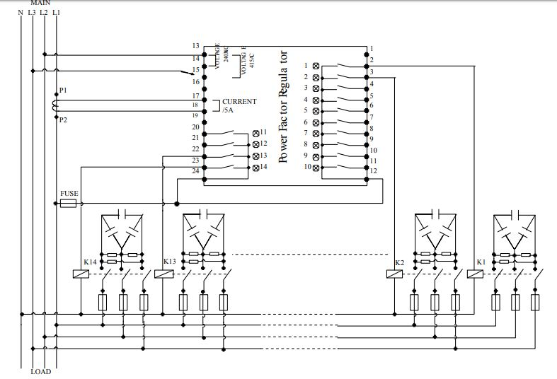sơ đồ kết nối bộ điều khiển Mikro