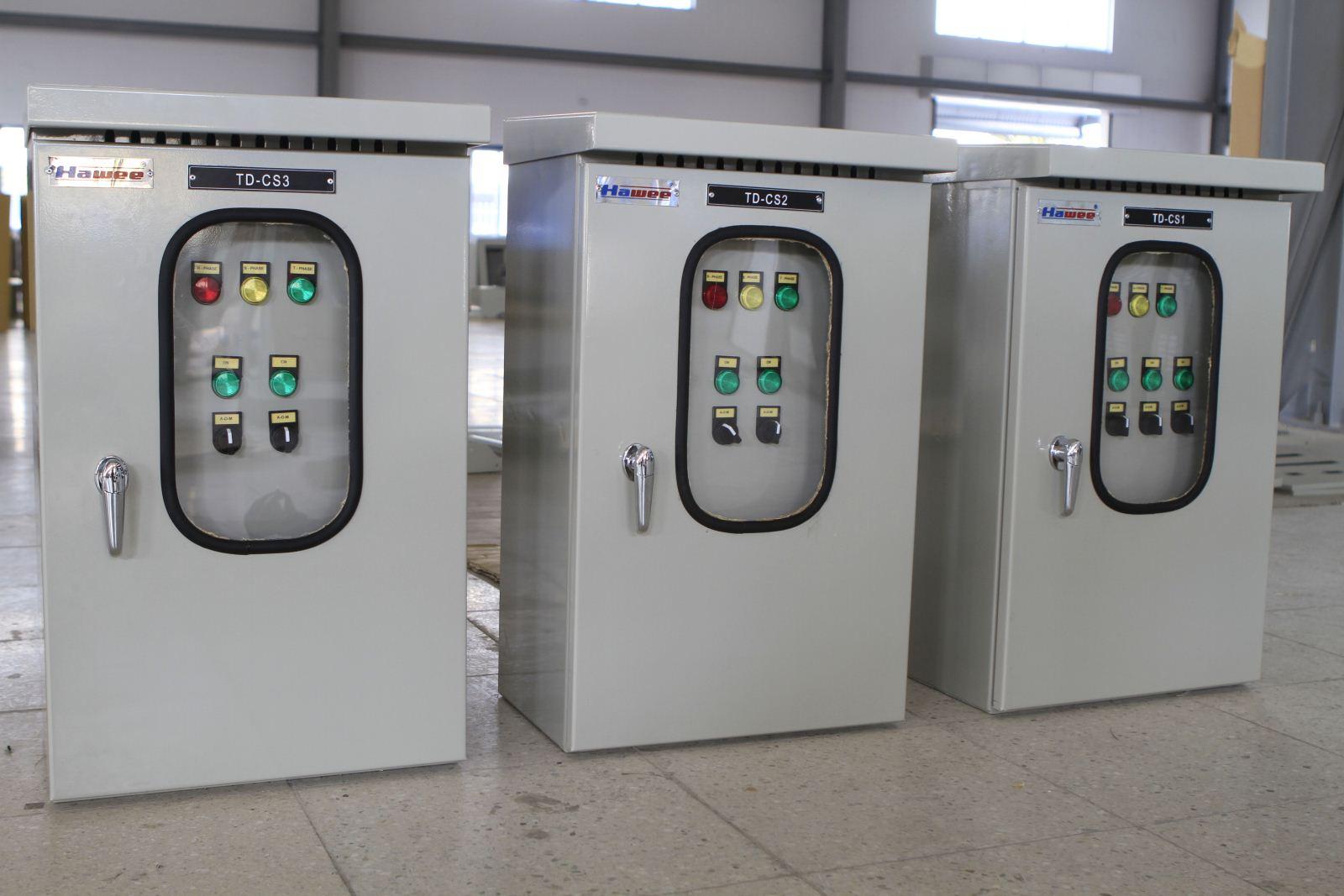 tủ điện chiếu sáng công nghiệp