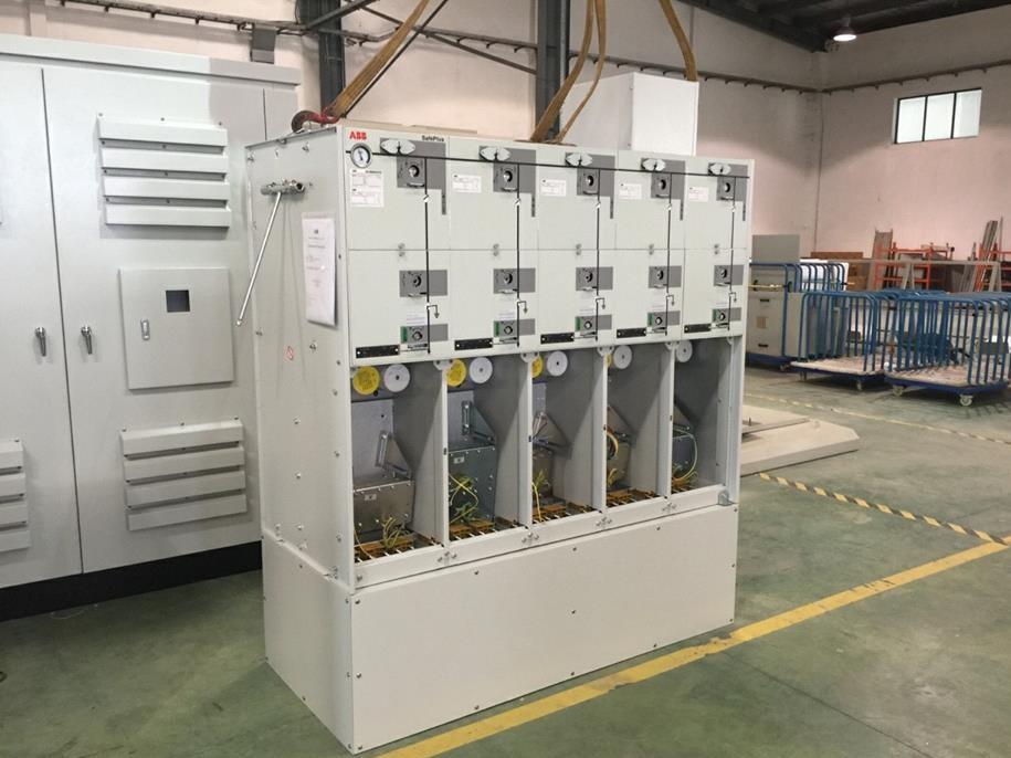Hệ thống tủ RMU ABB 24kV)