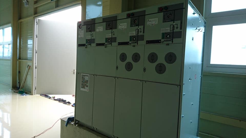 Khu vực tủ RMU được lắp đặt