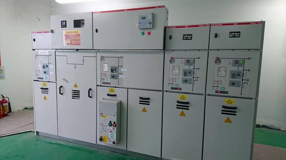 Lắp đặt hệ thống tủ Trung thế