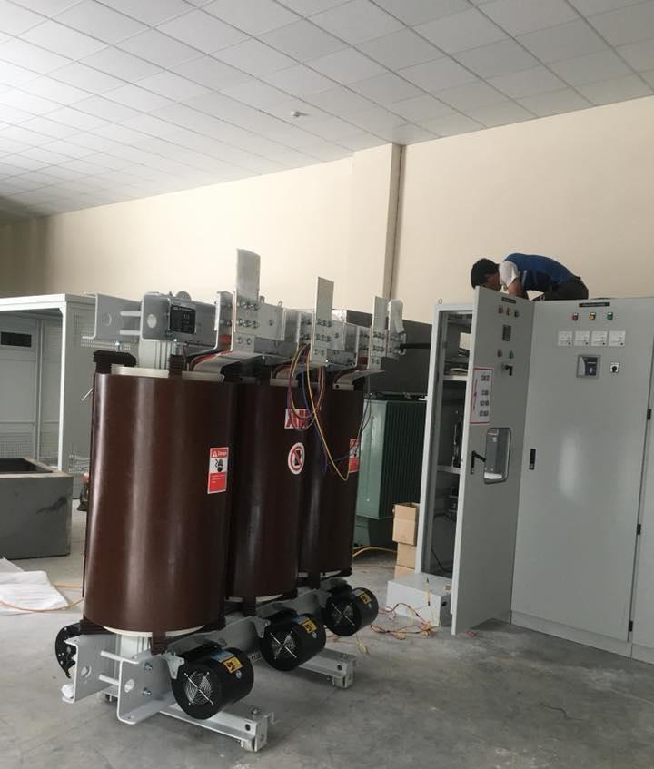 Trạm biến áp khô trong công nghiệp