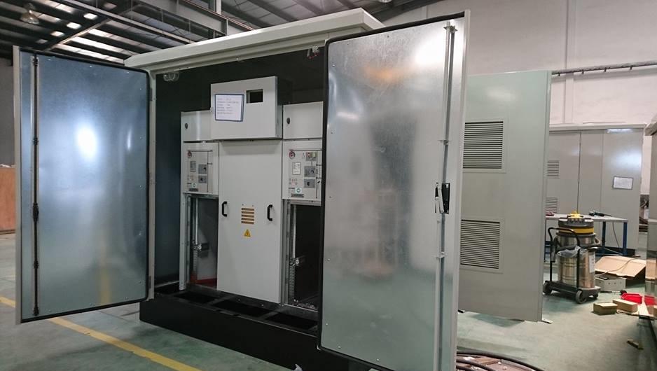 Vỏ tủ điện trung thế